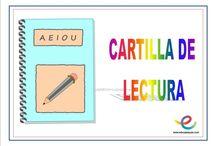 Educación cartilla lectura ed infantil