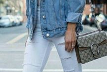 ripped jeans + pumps