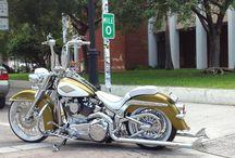 Harley Davidson Softail Heritage / Motorcycle