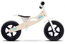 Bicicletas sin pedales de madera / Las bicis sin pedales o de equilibrio son la forma más natural y fácil de aprender a montar en bicicleta para los niños.