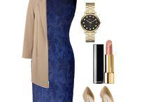 Pencil Dress Audrey Navy Lace Dessin / Deze navy blauwe kleur met kant dessin zorgt voor een opvallende uitstraling van deze klassieke kleur.