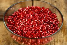 Our passion - Pomegranade / We like it every way just the fruit, in salad, in cookie. We love it everywhere and every way <3