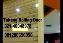 085101937411 - TUKANG SERVICE ROLLING DOOR FOLDING GATE TERMURAH JAKARTA