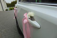 Raz dwa styl dekoracja samochodu
