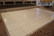 Pure White Dance Floors / Our Beautiful & Elegant Pure White Dance Floors Will Add A Touch Of Class To Your Event