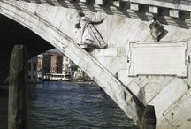 Rialto bridge / The Rialto Bridge (Italian: Ponte di Rialto) is one of the four bridges spanning the Grand Canal in Venice, Italy. It is the oldest bridge across the canal, and was the dividing line for the districts of San Marco and San Polo.