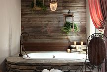 Bathrooms / Stylish powder rooms and master bathrooms