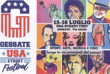 USA Street Fest: due giorni di sport, musica, arte e street food made in USA 15 e 16 luglio Gessate