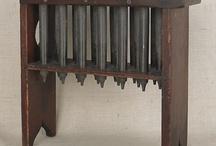 Mum yapımı kalıpları / Mumluk mum yapımından kullanılan kalıplar