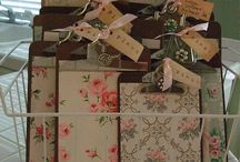 DIY OLD CLIP BOARDS / by Margie Mellon