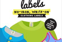 Lil' Labels Products / Waterproof labels for baby bottles, supplies and clothing designed to make life easier for busy moms and kiddos, baby products, baby organization