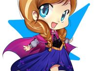 Anime Anna Frozen♥ / Anime