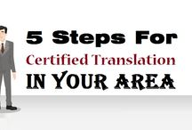 5 Steps For Certified Translation in your area