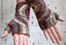 Handwärmer, Handschuhe und Handschmeichler / Handschuhe und alles was die Hände wärmt oder umschmeichelt geschickt gestrickt mit Anleitungen aus dem www