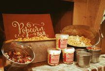 Trouwen / huwelijk / bruiloft / Wil je een verrassende en orginele snack op je huwelijk? Dan is popcorn wellicht iets voor jou!