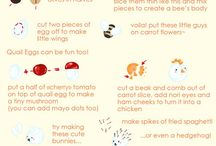 Obento / Japanese style cute lunch box food ideas