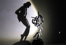 Shadow Sculptures by Diet Wiegman / Artist Diet Wiegman manages to sculpt mounds of irregularly shaped structures that are transformed into an intricately detailed silhouette when a light shines on it from a precise angle.
