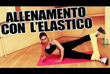 fitness con elastico