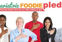 2016 Bariatric Foodie Pledge / The Bariatric Foodie Pledge starts January 31 and is a four-week challenge where you can win prizes for making & stating accountable to your own goals!   Join today at www.bariatricfoodie.com/pledge