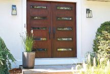Contempory Entrance Doors
