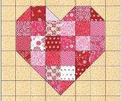 heart quilt ideas