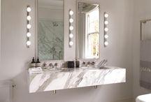 Bathroom Lighting / ideas for perfect bathroom illumination!