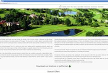 Emilia Romagna Golf, the web site / Images from the web site www.emiliaromagnagolf.com