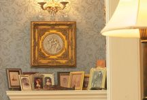 Antique Inspired Stencils / Stencil designs that are antique inspired