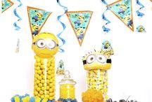 IDEE per festa di compleanno minions
