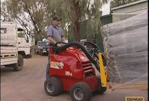 Dingo Mini Digger -  a machine I am proud of! / The Dingo Mini Digger is a versatile machine made in Australia. This board is dedicated to all things Dingo related!