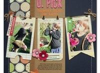 scrapbook pages 2-3 photos