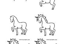tekenplezier HIER! / tekenen, tekeningen