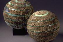 Clay earth globe...