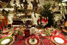 Christmas / Table settings