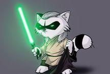 Raccoons Starwars