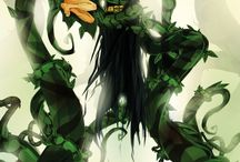 Bat and ivy