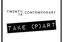 TAKE (P)ART by Twenty14 Contemporary / Matilde Scaramellini, young art historian, and Giangiacomo Cirla, young designer, bringing together their passion for art, last december opened this new space involving new talents and new cultural enrichment. T14's income is exclusively used to support and promote artists and their exhibitions that we oversee as we believe Art nowadays has the power to create new possibilities.