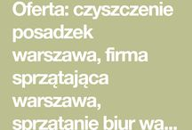 Sprzątanie biur - Warszawa
