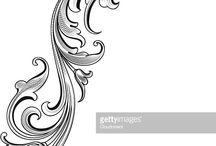 ornamenty,panely