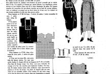 patterns & tutorials 1920's / by Jaana Seppälä