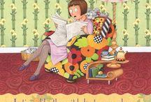 Mary Engelbreit / diseños