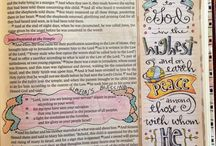 Time for Bible journaling