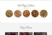 Webdesign - pizzerie
