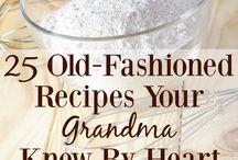Old Fashioned Recipes