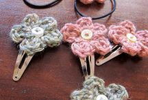 Crochet hair accessories