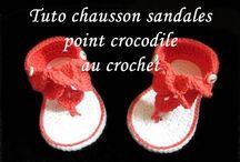 Sandale bébé