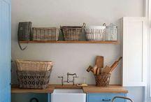 Interiors (Laundry room)