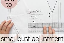 Pattern Adjustments