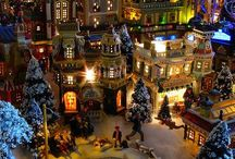 Christmas villages/ideas/tips/how to