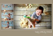 Cake Smash Photography by rg wild photography.  Visit www.rgwildphotography.com.au or www.facebook.com/rgwildphotography / Cake smash photo-shoots are a fun filled way to celebrate a mile stone in a child's life. The child loves the experience as the setting allows them to relax, get messy & best of all, this excitement it's captured in photos that you can savour forever.